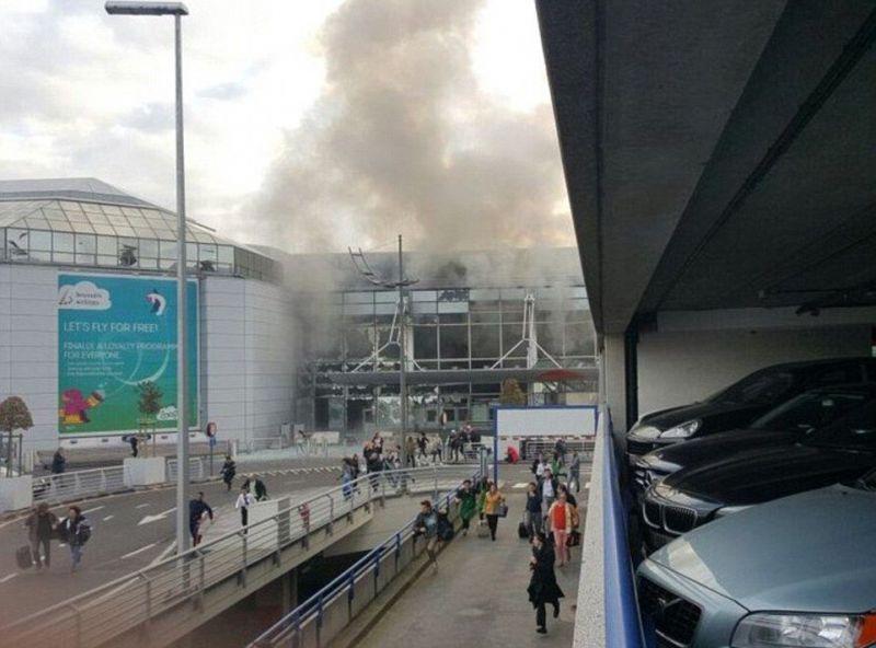 Теракт в аэропорту Брюсселя