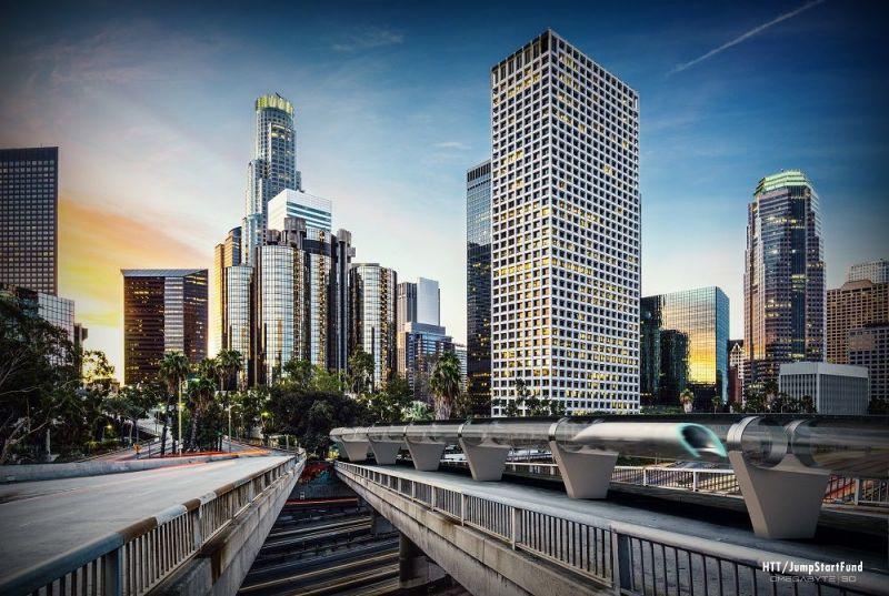 HyperLoop Concept Los Angeles