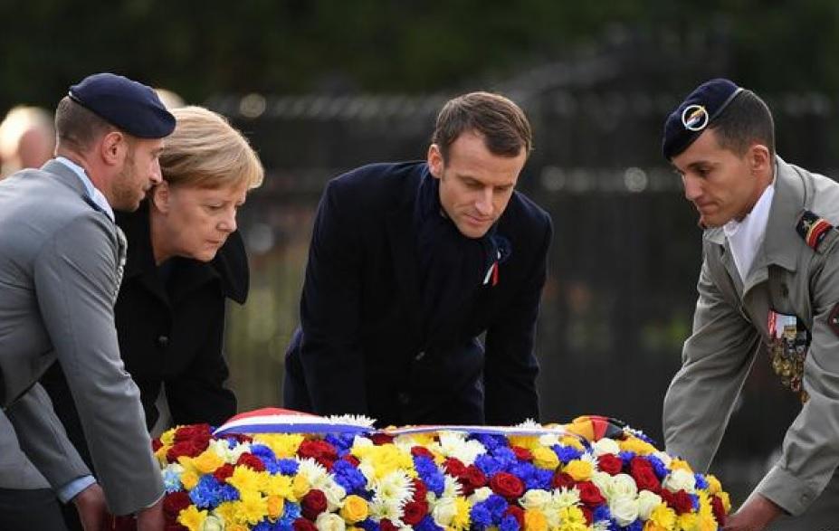Мировые лидеры почтили память погибших в Первой Мировой войне