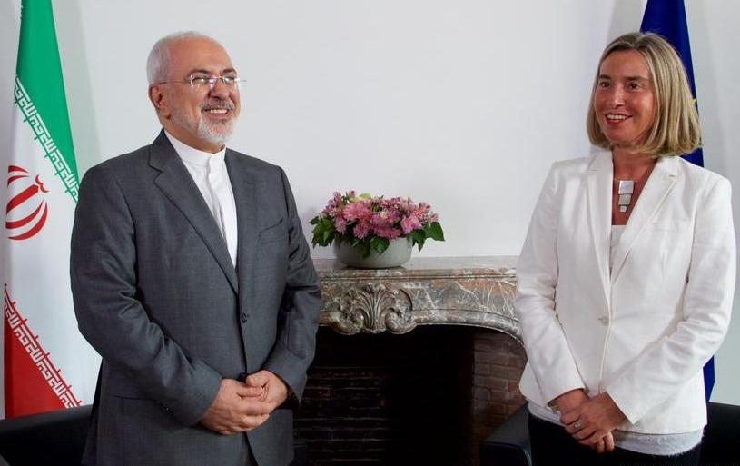 Могерини и Иранские власти