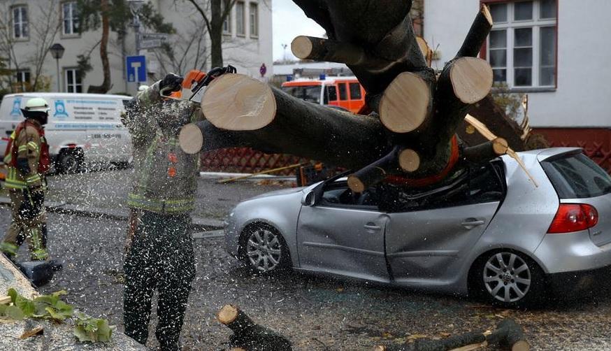 По странам Центральной Европы прошелся ураган