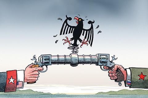 Северный поток-2 в центре отношений между США, Россией и Европой