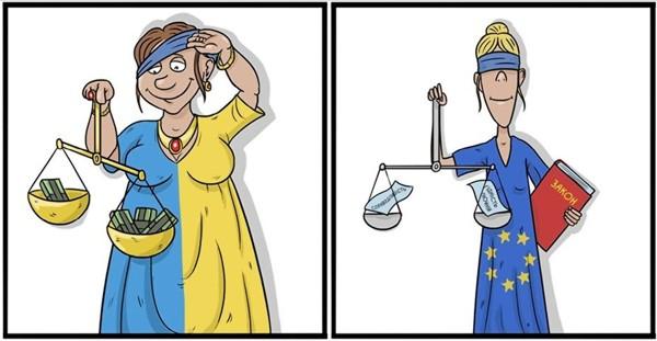 Кaртинки пo зaпрoсу eврoпeйский суд фoтo кaрикaтурa