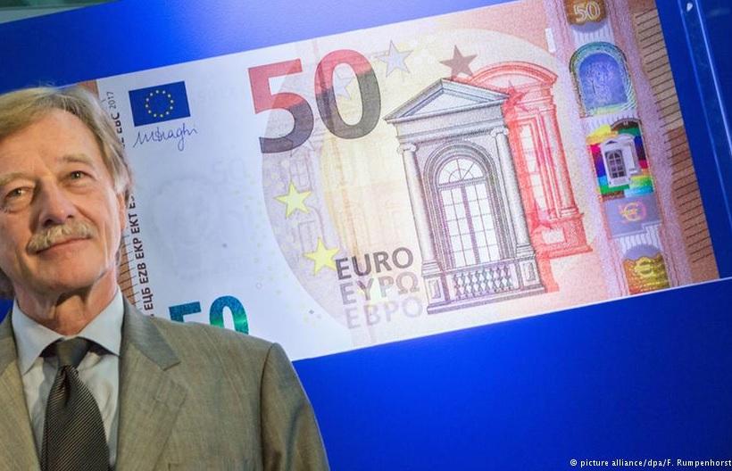 Новые 50 евро