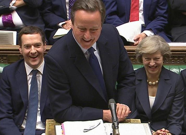 Выступление Кэмерона в парламенте